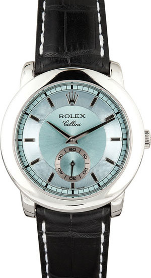 Men's Rolex Cellini Cellinium 5241 - Glacier Blue - 109485