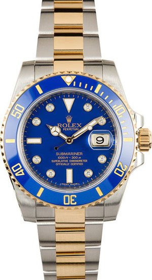 2-tone-submariner-mens-watch-rolex